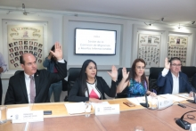 LX Legislatura sostiene mesa de trabajo con el titular de la delegación de Relaciones Exteriores